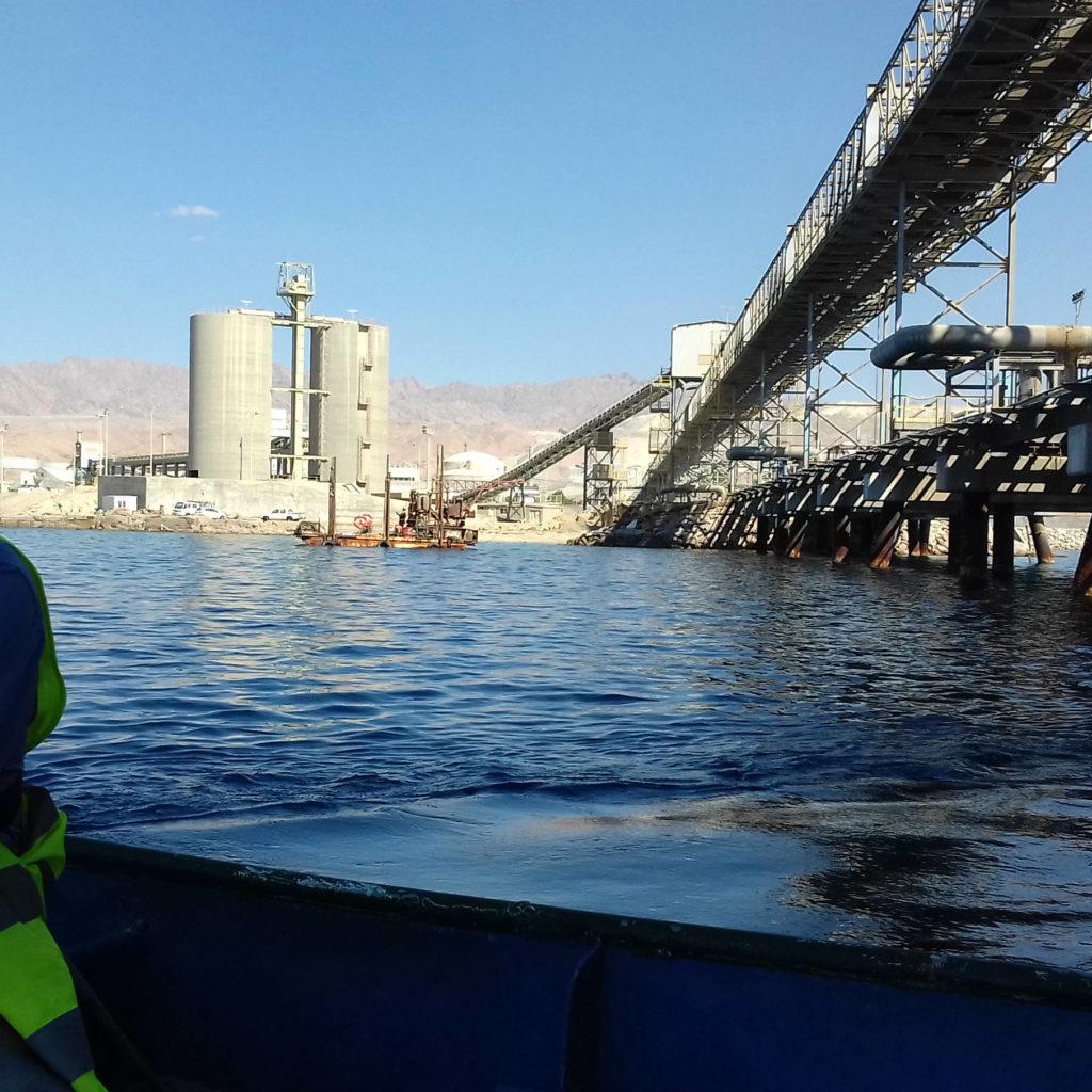 Industrial Terminal Pile Thickness Measurement Survey