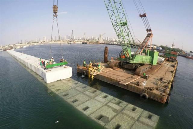 Barracuda at Al Hamriya project