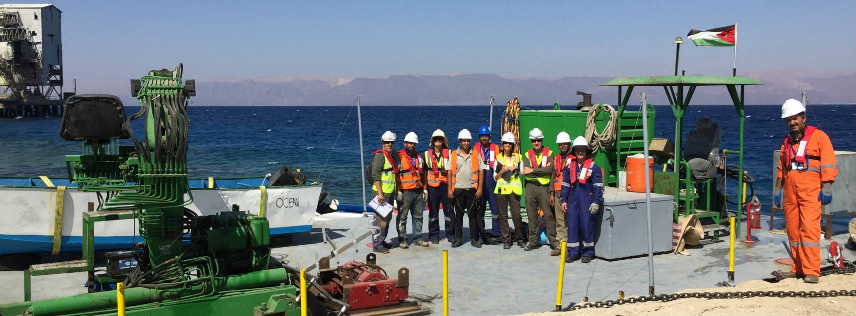 Barracuda Team at the Industrial Terminal, Jordan